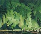 Summer Hillside kamaniskeg - A.J. Casson reproduction oil painting