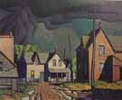 Thunder Storm - A.J. Casson reproduction oil painting