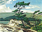White Pine 1957 - A.J. Casson reproduction oil painting