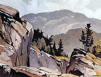 White Fish Falls - A.J. Casson reproduction oil painting