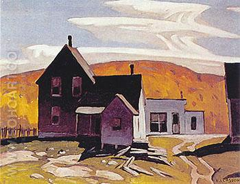 Whitney - A.J. Casson reproduction oil painting