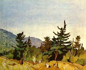 Wood Land Combermere - A.J. Casson reproduction oil painting
