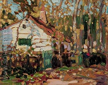 Autumn in Picardy 1912 - A.Y. Jackson reproduction oil painting