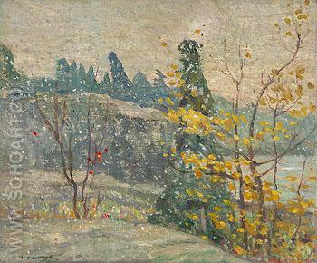 Autumn Snowfall 1913 - A.Y. Jackson reproduction oil painting