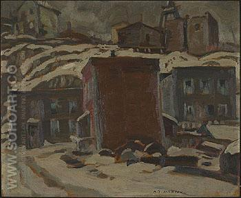 Cobalt Ontario 1932 - A.Y. Jackson reproduction oil painting