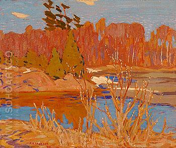 Early Spring Georgian Bay 1920 - A.Y. Jackson reproduction oil painting