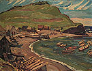 Fox River Gaspe I 1936 - A.Y. Jackson reproduction oil painting