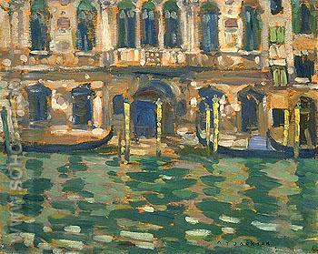 Grand Canal Venice 1912 - A.Y. Jackson reproduction oil painting
