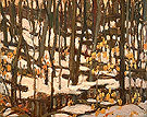 Grey Day in the Woods 1920 - A.Y. Jackson reproduction oil painting