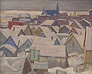 La Malbaie Quebec 1935 - A.Y. Jackson reproduction oil painting
