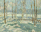 Morning After Sleet 1913 - A.Y. Jackson reproduction oil painting