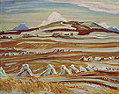October Twin Butte Alberta 1951 - A.Y. Jackson reproduction oil painting