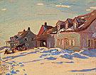 Saint Fidele 1926 - A.Y. Jackson reproduction oil painting