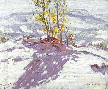 Sand Dunes at Cucq 1912 - A.Y. Jackson reproduction oil painting