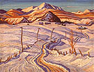 Winter Charlevoix Country - A.Y. Jackson