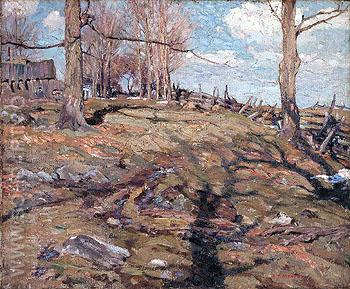 The Edge of the Maple Wood 1910 - A.Y. Jackson reproduction oil painting