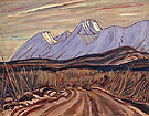 The Highway near Kluane Lake 1943 - A.Y. Jackson