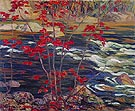 The Red Maple 1914 - A.Y. Jackson reproduction oil painting