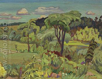 Valley at Batterwood 1930 - A.Y. Jackson reproduction oil painting