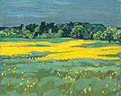 Wild Mustard Brockville 1922 - A.Y. Jackson