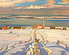 Winter Quebec 1926 - A.Y. Jackson
