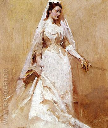 A Bride - Abbott Henderson Thayer reproduction oil painting