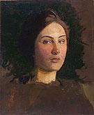 Alma Vollerman c1903 - Abbott Henderson Thayer
