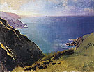 Cornish Headlands 1898 - Abbott Henderson Thayer reproduction oil painting