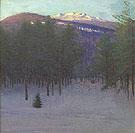 Monadnock in Winter - Abbott Henderson Thayer