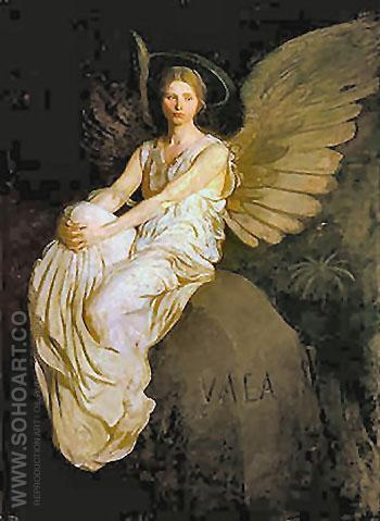 Stevenson Memorial - Abbott Henderson Thayer reproduction oil painting
