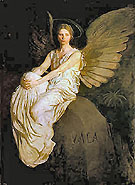 Stevenson Memorial - Abbott Henderson Thayer reproduction oil painting