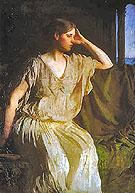 Woman in a Grecian Gown - Abbott Henderson Thayer