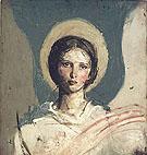 Head of a Girl c1918 - Abbott Henderson Thayer