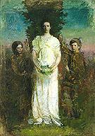Mary Gerald and Gladys 1897 - Abbott Henderson Thayer