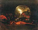 Still Life with Brass Vase and Kimono - Abbott Henderson Thayer