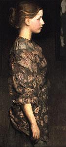 Portrait of Alice Rich 1917 - Abbott Henderson Thayer