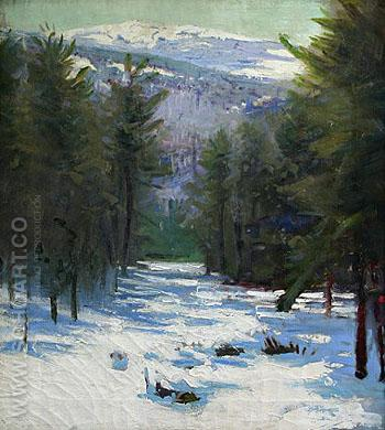 Monadnock - Abbott Henderson Thayer reproduction oil painting