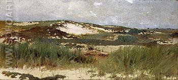 Nantucket Sand Dune c1890 - Abbott Henderson Thayer reproduction oil painting