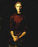 Portrait of a Lady c1900 - Abbott Henderson Thayer