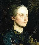 Portrait of a Woman 1881 - Abbott Henderson Thayer