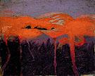 Red Flamingoes c1905 - Abbott Henderson Thayer