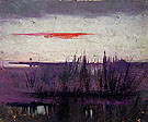 The Sky Simulated by White Flamingoes c1905 - Abbott Henderson Thayer