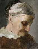 Sutdy of Old Woman 1890 - Abbott Henderson Thayer