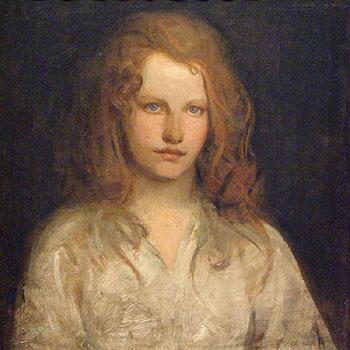 Margaret Mackittrick - Abbott Henderson Thayer reproduction oil painting