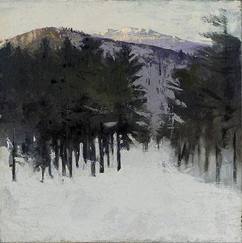 Monadnock No 2 1912 - Abbott Henderson Thayer reproduction oil painting