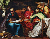 Four Evangelists 1615 - Abraham Bloemaert reproduction oil painting