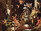 Judith Shows the People the Head of the Holofernes - Abraham Bloemaert reproduction oil painting
