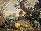 Landscape with Fruit and Vegetables in the Foreground c1614 - Abraham Bloemaert