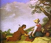 Shepherd and Sherpherdess 1627 - Abraham Bloemaert