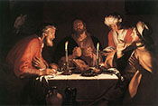 The Emmaus Disciples 1622 - Abraham Bloemaert